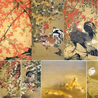 Живопись Японии 12 в. из императорской коллекции.