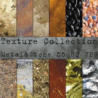 Текстуры металла и камня