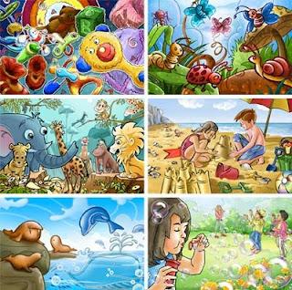 рисунки для детей и детские рисунки