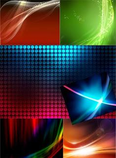 Обои со световыми абстракциями для рабочего стола
