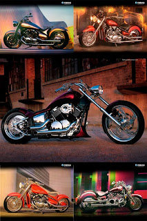 Мотоциклы Yamaha. Обои для рабочего стола.