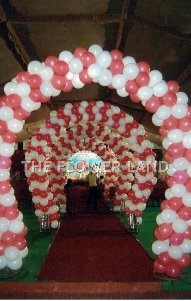 Balloon decoration balloon decorations party decorations for Balloon decoration for parties