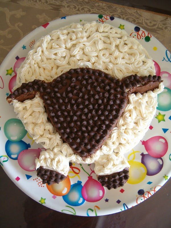Decorating Ideas > EidulAdha Sheep Cake  Confessions Of A Confectionista ~ 075848_Eid Cake Decoration Ideas