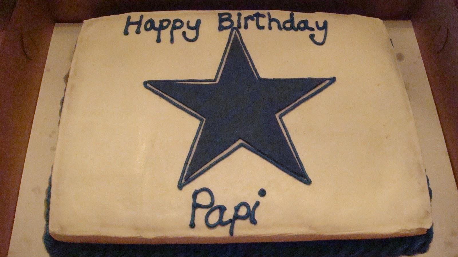 Cakerella Dallas Cowboy Birthday Cake
