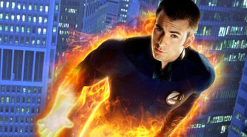 human torch from fantastic 4