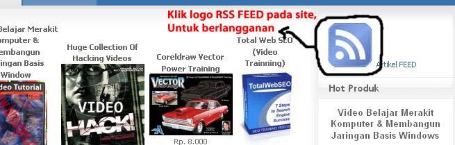 Klik logo Rss Feed