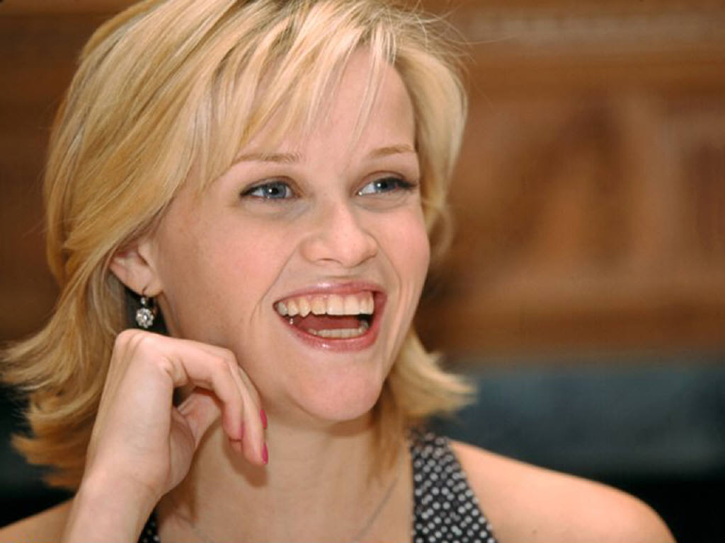 reese witherspoon cute hair style wallpapers