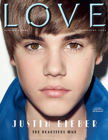 justin bieber love magazine cover. Bieber covers #39;Love#39; magazine