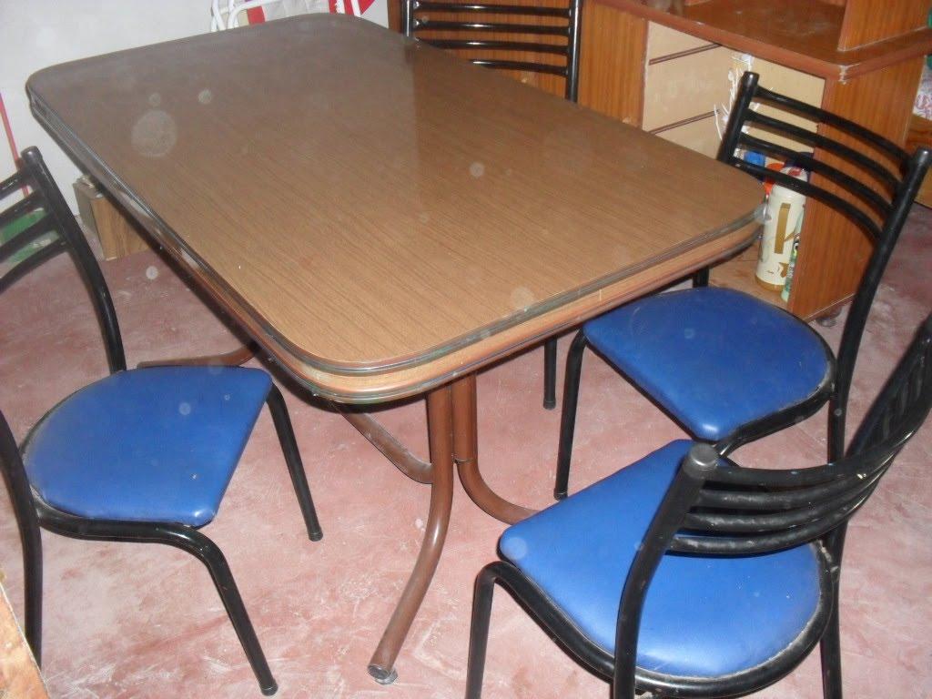 Revista regional el yepoque juego de sillas y mesa oferta for Oferta mesa y sillas