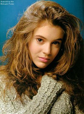 alyssa milano style hair