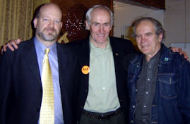 Bill Tieleman, Maple Ridge-Pitt Meadows NDP MLA Michael Sather, Richmond councilor Harold Steves