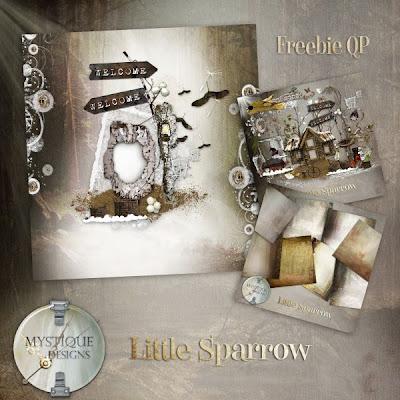 Little Sparrow QP Freebie by Mystique Designs Folderqp
