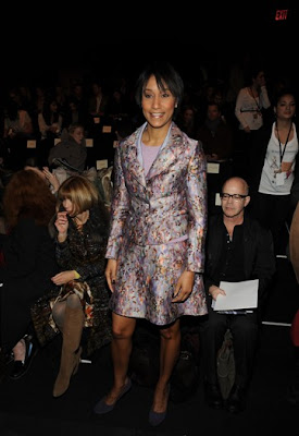 Desirée rogers hits new york fashion week