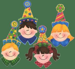Festejos de niños