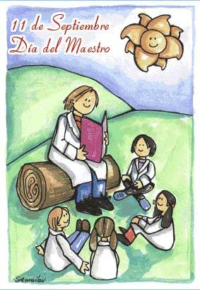 el 11 de septiembre se celebra en argentina el día del maestro ...