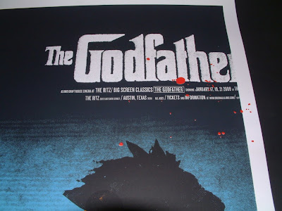 INSIDE THE ROCK POSTER FRAME STORE: THE GODFATHER MOVIE ...