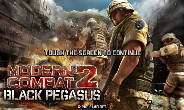 for android by Gameloft, now you can play Modern Combat 2 on android