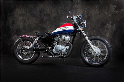 BLUE COLLAR BOBBERS  Honda Rebel 250