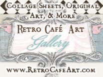 Retro Cafe Art Gallery