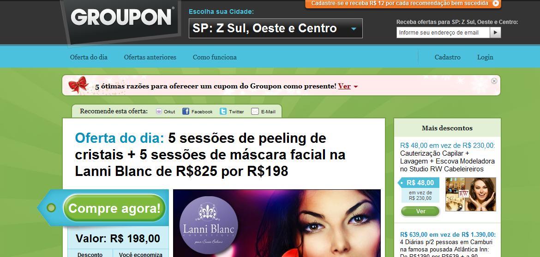 Ofertas Groupon São Paulo