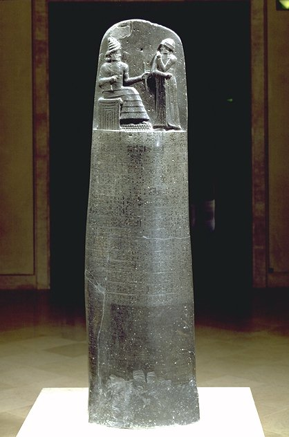 stela of hammurabiStele With Law Code Of Hammurabi