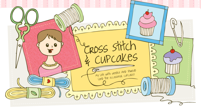 Cross Stitch and Cupcakes