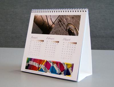 Tcn de techniek en emotie bureau kalender for Bureau kalender