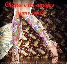 Selo oferecido por Nanda do blog Chique é Ser Feia
