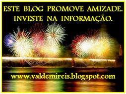 Selo oferecido pelo blog www.valdemireis.blogspot.com