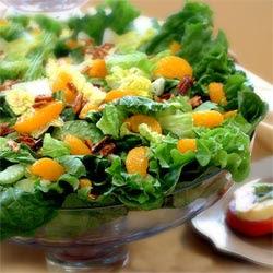 Gourmet Almond Mandarin Green Salad