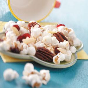 Gourmet Cranberry Popcorn Lowcarb Recipe