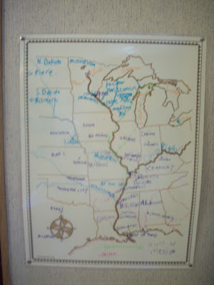 Minn of the Mississippi Map - Mississippi River Map