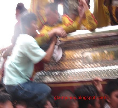 images of the Black Nazarene Festival