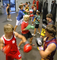Boxing classes are a great way to get you moving