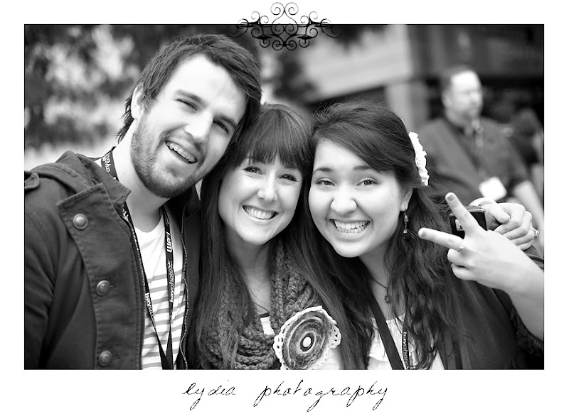 Mark & Candice Brooke and Lydia at WPPI in Las Vegas, Nevada