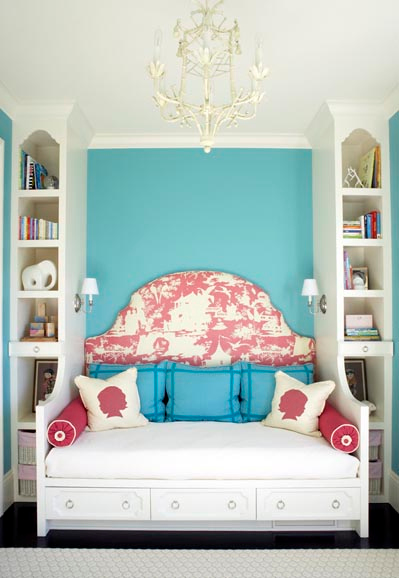 turquoise bedroom decor. I LOVE this room  The side tables are made from music drums love the Mid Century style bench and fabric of its cushion art above Inspire Bohemia Beautiful Bedrooms Part III a k Turquoise Heaven