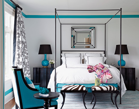 Inspire Bohemia: Beautiful Bedrooms: Part III a.k.a. Turquoise Heaven!