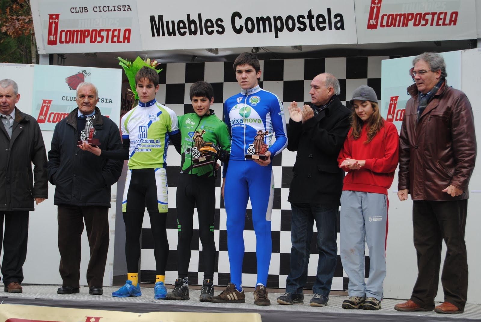 Escola ciclismo j a hermida marcos villar vence en for Muebles compostela