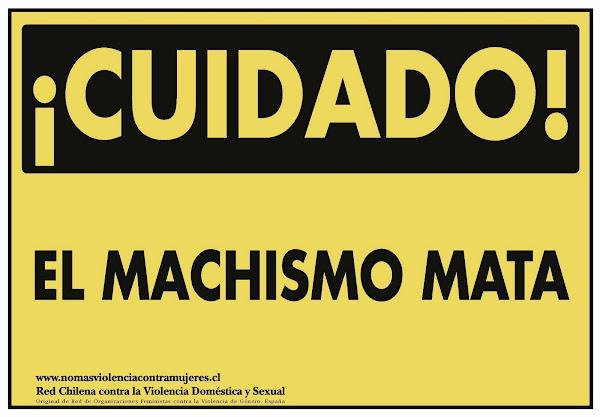CAMPAÑA CUIDADO EL MACHISMO MATA (2007 - 2009). RED CHILENA CONTRA LA VIOLENCIA DOMÉSTICA Y SEXUAL