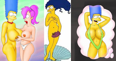 Marge Simpson Nua