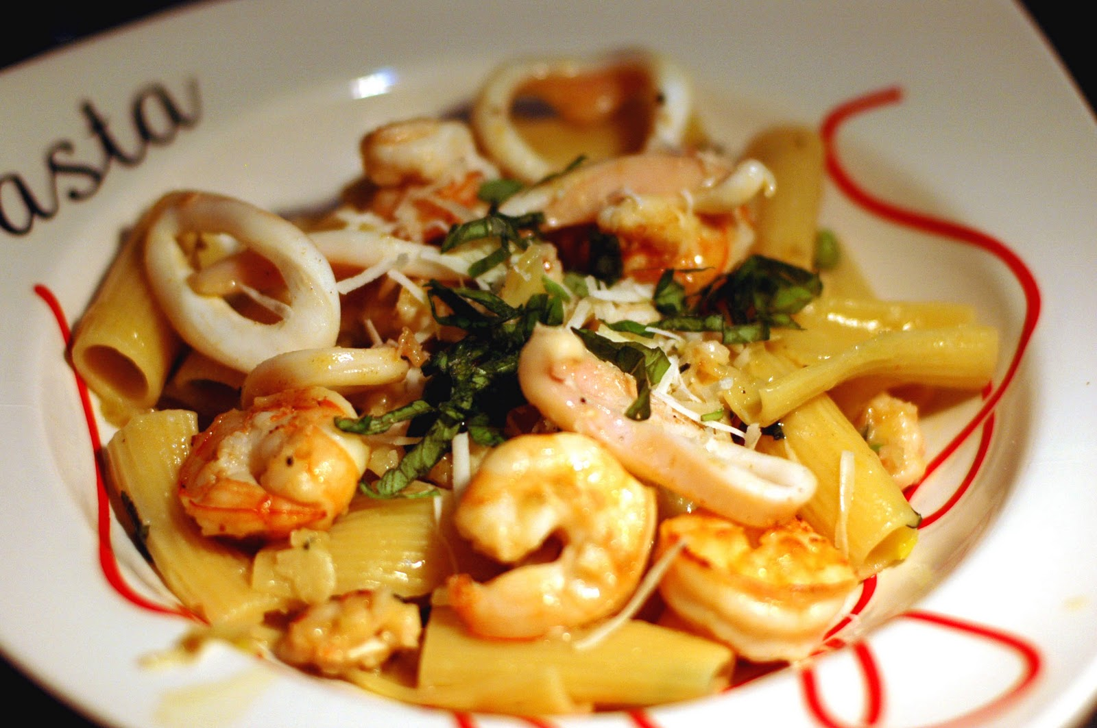 LazyCook: Seafood Pasta Extravaganza