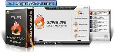 Super DVD Creator 9.8 - программа для компоновки DVD и авторинга. . Прог..
