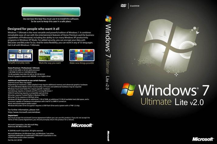 Windows 7 Ultimate Edition Lite x86 PT-BR Win7 Lite Lospiratasdelaweb