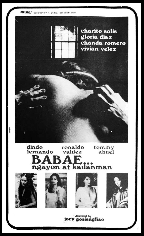 BABAE, NGAYON AT KAILANMAN (1977) AT CCP's TANGHALANG MANUEL CONDE ON