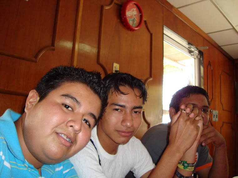 ALFREDO, JAZEN Y ALAN