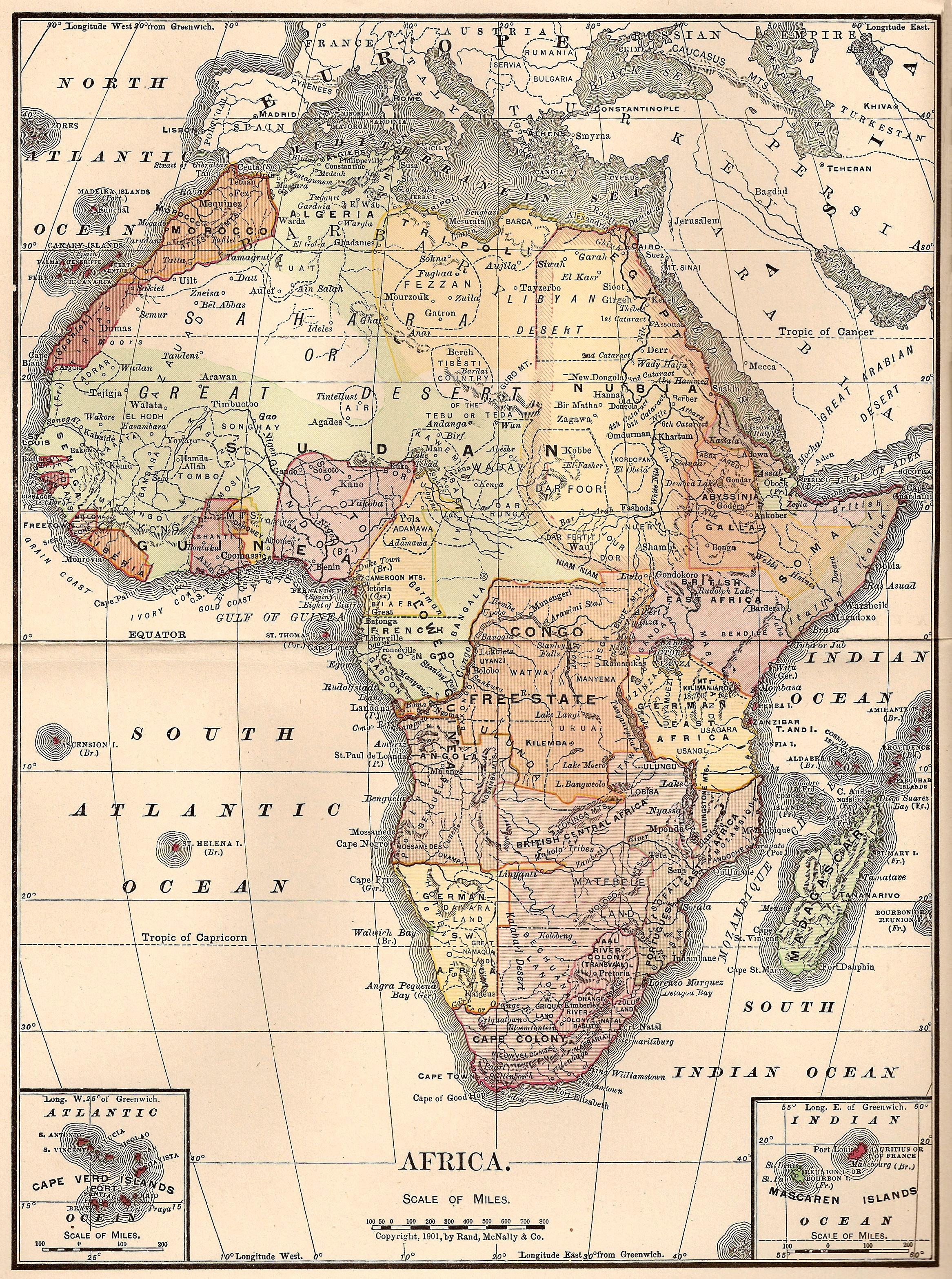catnipstudiocollage free vintage clip art map of africa 1901