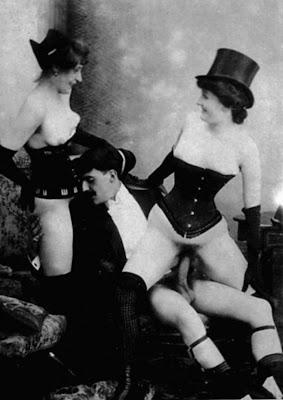 Lesbian strap on butt sex