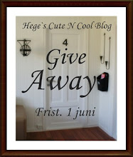♥Give Away hos Hege's Cute N Cool Blog♥