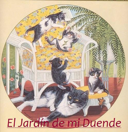 El jardin de mi duende 5 peque os milagros for Ahuyentar gatos de mi jardin