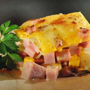 Aprende a cocinar con chef cesar suffle de papas con jamon for Cocinar con 5 ingredientes